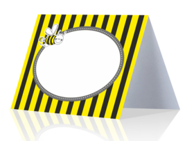 Place cards bee (6pcs)
