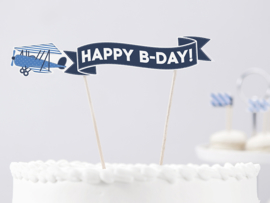 Cake topper airplane