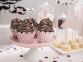 Cupcake toppers sweets (6pcs)