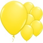 Balloons yellow (25pcs)