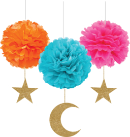 Pompoms colors - without danglers!