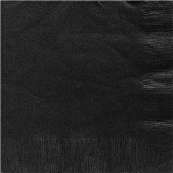 Servetten zwart groot (20st)