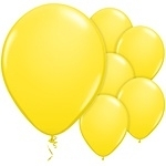 Balloons yellow pearl (25pcs)