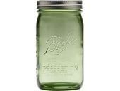 Mason jar 32oz quart LIMITED GREEN