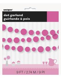 Slinger cirkels hot pink