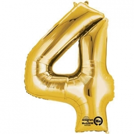 Golden foil balloon 4