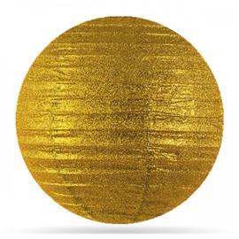 Lampion  goud glitter 30 cm