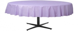 Tablecover round lilac