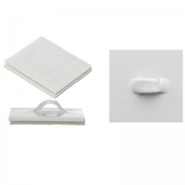 Self adhesive ceiling clips(each)