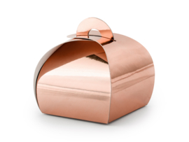 Gift box rose gold tasje (10st)