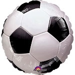 Foil balloon football 18""