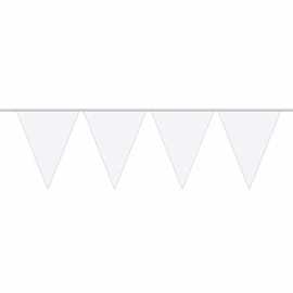 XL vlaggenlijn wit