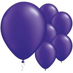 Ballonnen diep paars (10st)