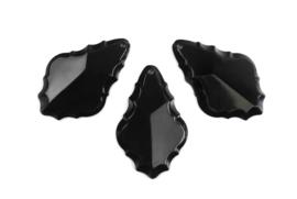 Deco hangers zwart (3st)
