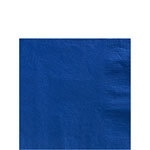 Paper beverage napkins blue (20pcs)