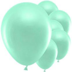 Balloons mint green pastel(10pcs)