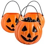 Mini pumpkin pails (12pcs)