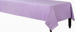 Tablecover plastic lilac