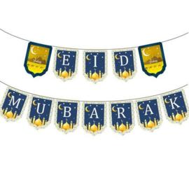 Eid thema blauw