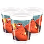 Plastic party cups Big HEro 6