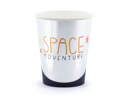 Papiern bekers space (6st)