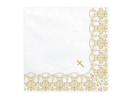 Papieren servetten First Communion