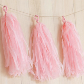 Tassel set pink (5pcs)