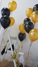 DIY tassels gold foil (5pcs)