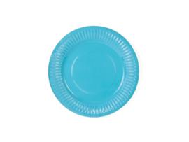 Paper plates blue (6pcs)