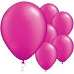 Ballonnen magenta pearl (10st)