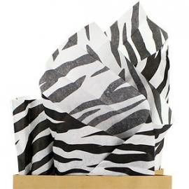 Tissue papier tijgervel (8vellen)