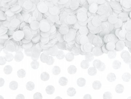 Paper confetti small white