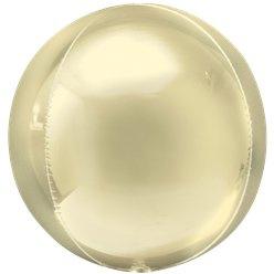 Orbz ballon geel goud (pst)