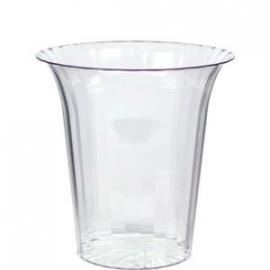 Sweet jar  plastic flared (medium)