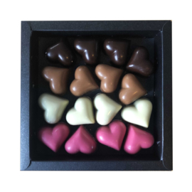 Hartjes chocolade bonbons