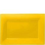 Serveerschalen geel (3st)