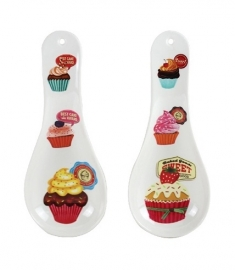 Cupcake spoon holder