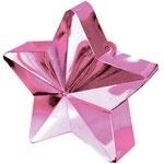 Ballongewicht roze ster