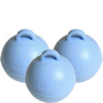 Balloon weight bubble baby blue (each)