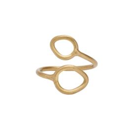 Ring leaf gold