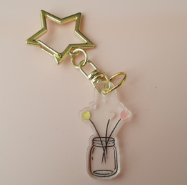 Mini acrylic ornament Mason Jar