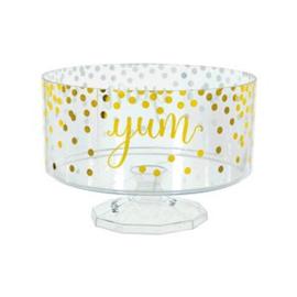 Snoepschaal trifle jar GOLD medium