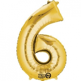 Golden foil balloon 6