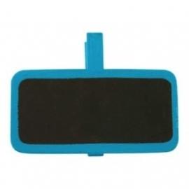 Mini chalk board peg blue (ea)