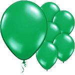 Ballonnen pearl licht groen (10st)