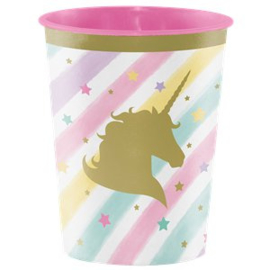 Unicorn sparkle favor cup(each)