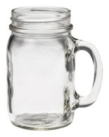 Ball Mason plain drinking jug