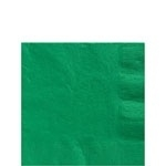 Paper beverage napkins green (20pcs)