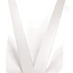 Car ribbon white