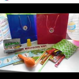 Candy bags green mosaik